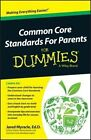 Common Core Standards for Parents For Dummies by Jared Myracle (Paperback, 2014)