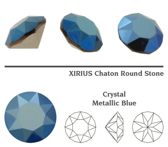 New Colors Genuine SWAROVSKI 1088 XIRIUS Chaton Round Crystals