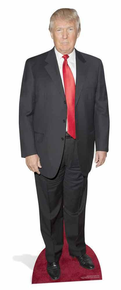 DONALD TRUMP USA USA USA Presidential Nominee 2016 LIFESIZE CARDBOARD CUTOUT   STAND UP 538ff8