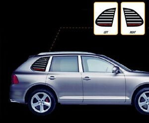 DxsoAuto Rear C-Pillar Quarter window plate typeA Fits: KIA 2008+ SOUL Kspeed