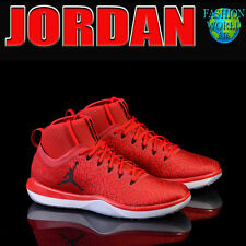 NIKE MEN'S SIZE 13.5 AIR JORDAN TRAINER 1 TRAINING SHOE GYM RED/BLK/WHT 845402