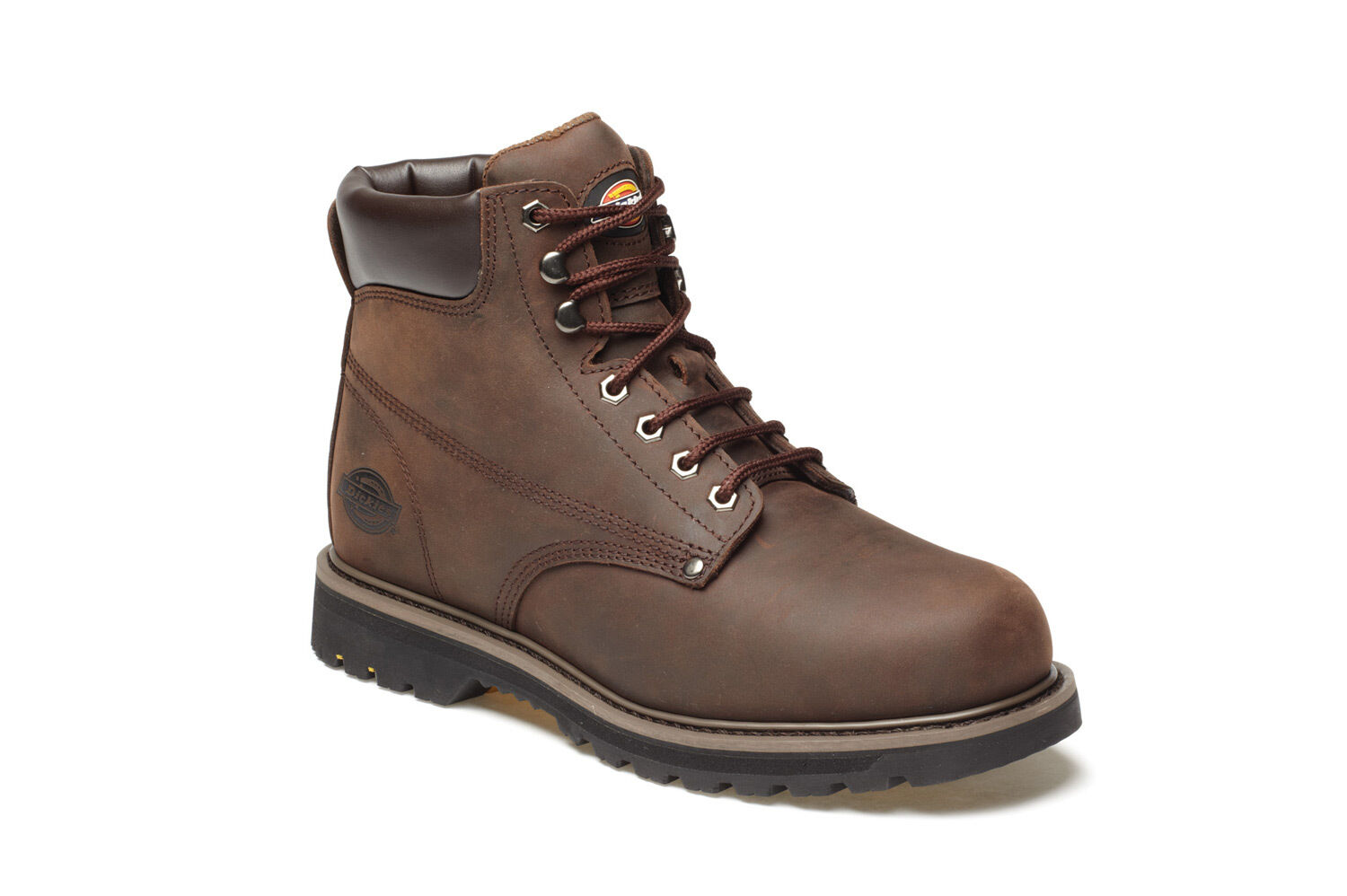 Uomo Dickies Welton non-safety Boot Marrone / Marrone Varie Dimensioni FN23600