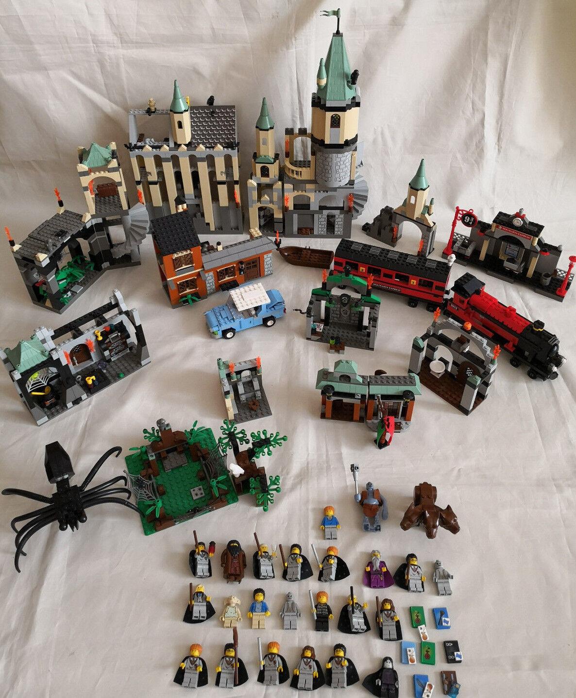 Lego Harry Harry Harry Potter Sammlung 10 Sets   24 Figuren Hogwarts Express 4706 4708 4709 18288e