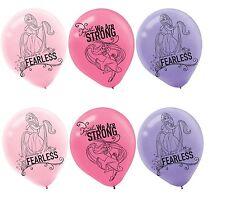 "(6ct) Disney Tangled Princess Rapunzel 12"" Latex Balloons Party Supplies"
