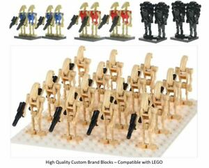 Droid-Army-Mini-Figures-lEGO-Star-Wars-Droid-Clones-Qty-4-100-Battle-Droid-UK