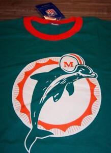 VINTAGE-STYLE-MIAMI-DOLPHINS-NFL-FOOTBALL-T-Shirt-2XL-XXL-NEW-w-TAG