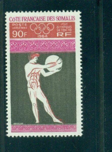 Français Somali Coast 1964 Tokyo Olympiques Mnh Large SéLection;