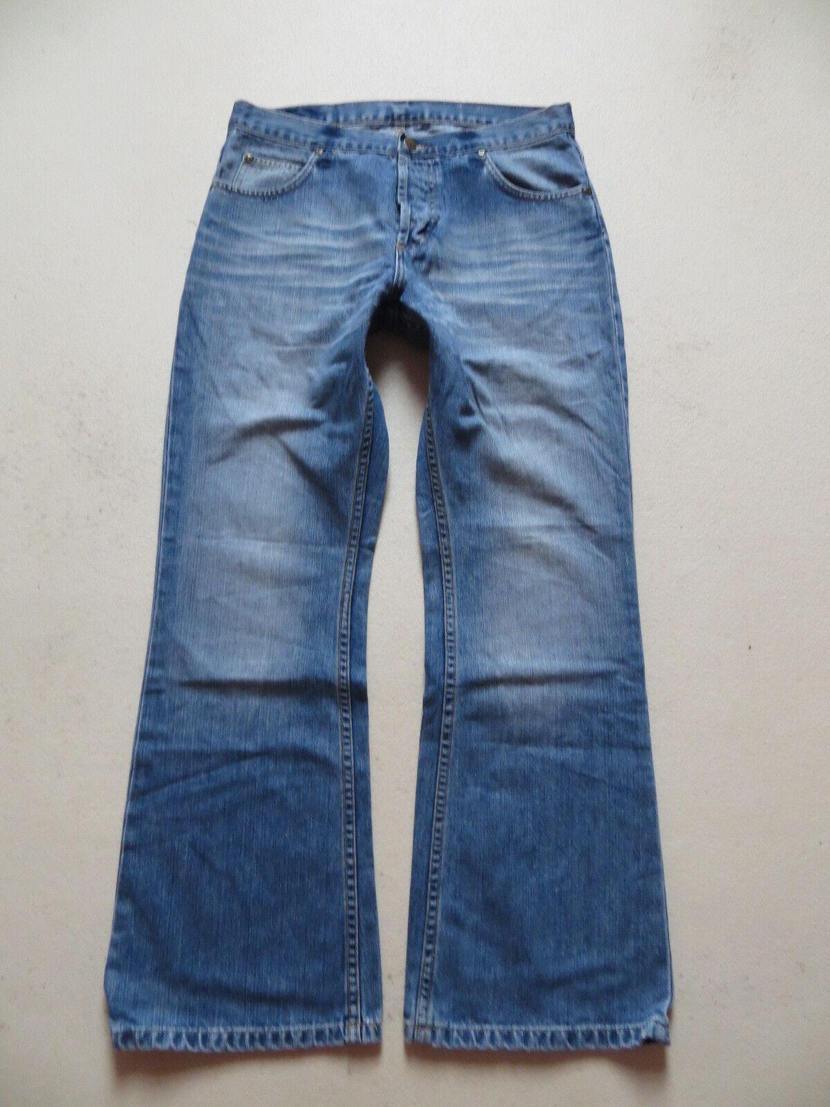 LEE Denver Schlag Jeans Hose, W 33  L 30, TOP   Flare Leg Vintage Denim, KULT