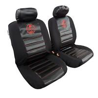 Arrival 2pcs Shelby Car Seat Covers Carbon Fabric Universal Size For Ford