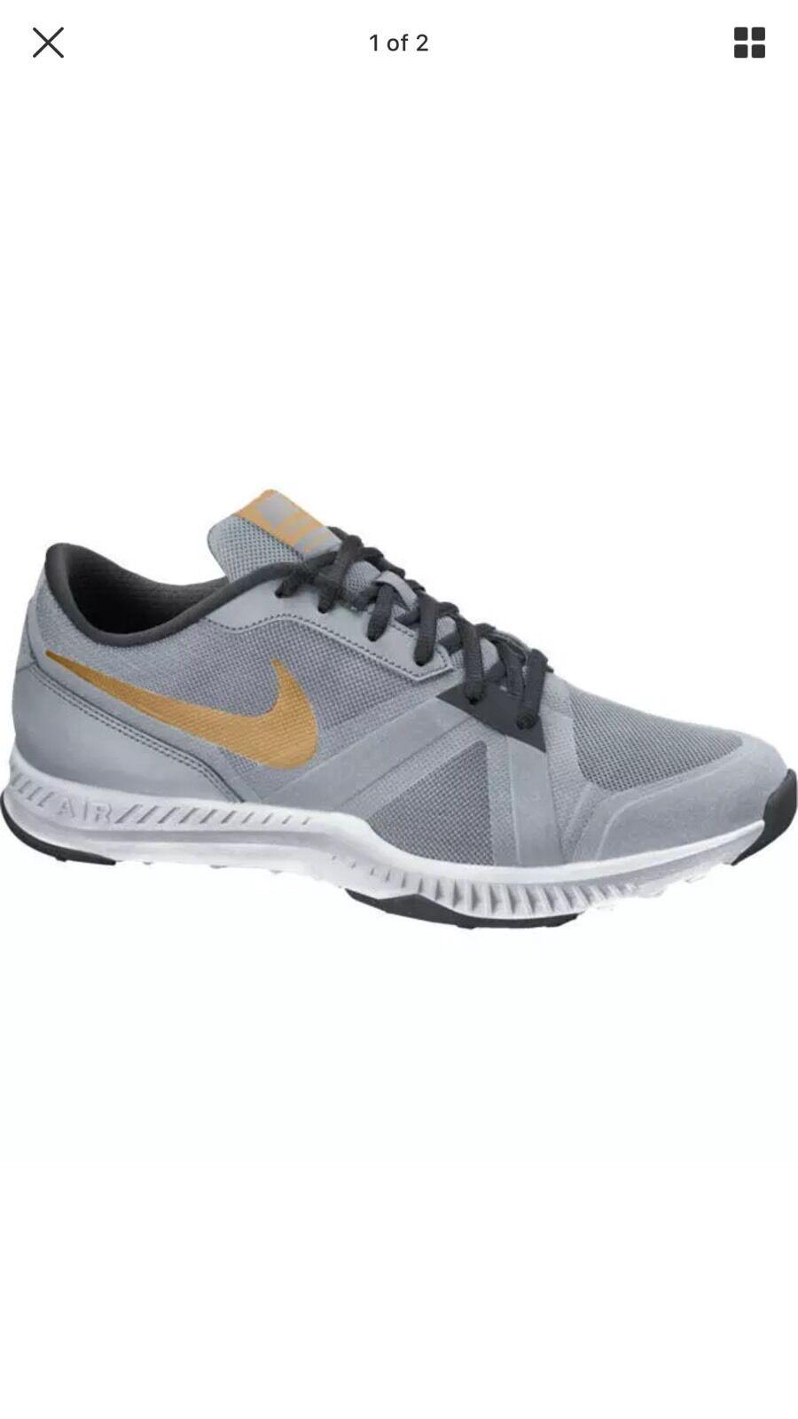 Nike air epico scarpe velocittr 819003-002 Uomo scarpe epico sz 11,5 argento / oro nwb b272a5