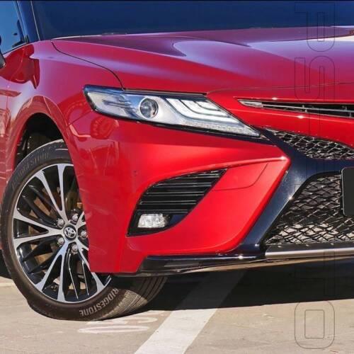 Fit 2018-2019 Toyota Camry SE XSE 6000K LED Fog Light Set w//Switch Bezel Wiring