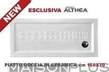 ITO - Piatto doccia extrapiano cm 160x70 H 5,5 cm ESCLUSIVA CERAMICA ALTHEA Cera