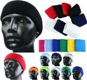 13c98ca27a25a4 Das Bild wird geladen Stirnband-Schweissband-Schweissband-Headband -Schweissbaender-Kopf-Sport