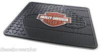 Harley Davidson Utility Mat Welcome Shop Back Rear Matt Floor Hd Motorcycle Home