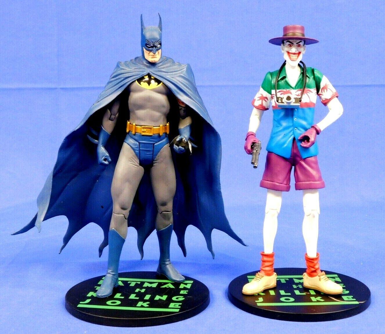 DC DIRECT BATMAN AND JOKER FIGURES FROM KILLING JOKE 2-PACK