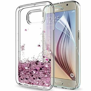 galaxy s6 phone case samsung s6 glitter cases with hd screenimage is loading galaxy s6 phone case samsung s6 glitter cases