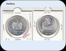 10  EUROS DE PLATA  AÑO 2006  F  ALEMANIA   ( MB8943 )