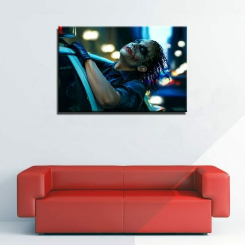The Dark Knight Joker Rides Again Framed Modern Décor Wall Art Canvas HD Print