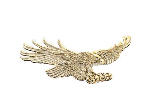 """Adler /""""AIGLE/"""" Gold à coller Emblème 15 cm large zinklegierung"""