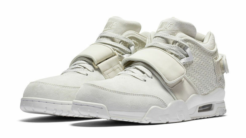 NIKE AIR TRAINER Chaussures VICTOR CRUZ Hommes TRAINING Chaussures TRAINER SIZE: 7.5 LIGHT BONE 777535 003 434844