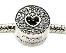 ANNIVERSARY .925 Sterling Silver European Charm Bead A1