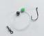 Snapper 6 X Running Sinker Fishing Rigs 4//0 Beak Hook Size 2 Sinker 20lb Leader