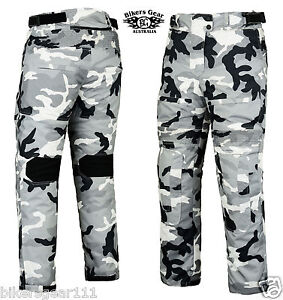 Image Is Loading NEW CAMO CORDURA MESH LINED MOTORCYCLE PANTS DUAL