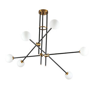 Industrial-2-4-6-Lights-Glass-Metal-Pendant-Modern-Chandelier-Ceiling-Light-Lamp