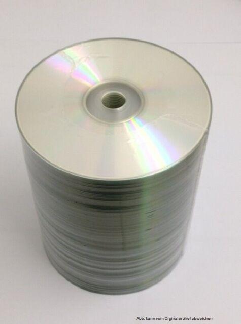 100  CD-R Rohlinge 700MB/80min 52x  mit Druckfehlern