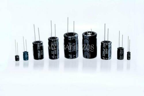 2PCS 63V 3300uF 63Volt 3300MFD Electrolytic Capacitor 18×35mm Radial