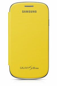 Samsung-Flip-Case-Cover-for-Galaxy-S3-Mini-Yellow