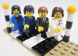 The-BEATLES-LEGO-MINIFIGURES-Custom-Abbey-Road-Zebra-Crossing-FAB-CHRISTMAS-GIFT