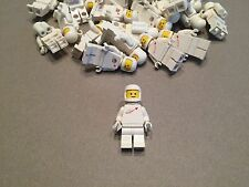 LEGO Vintage White Spaceman minifigure w/ Tank and Helmet Benny minifig Space