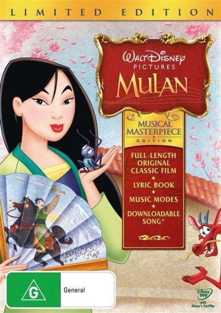 Musical Masterpiece - Mulan (DVD, 2009)