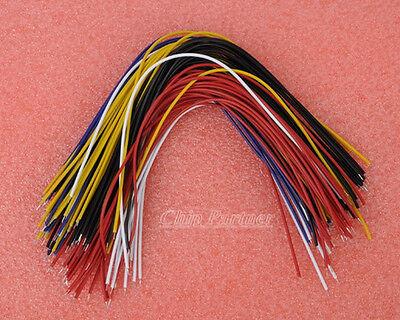 100 Double tin wire 20cm 5 colors Each 20