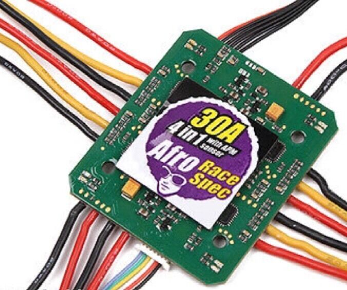 Afro 4-in-1 30 Amp Race Spec ESC 3-6s w BEC