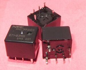 3-Pcs-NEC-ET1-B3M1S-Single-Sealed-Automotive-Relay-12VDC-225-OHM-1-Form-C-SPDT-M