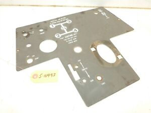 Allis-Chalmers-416-S-Tractor-Dash-Panel