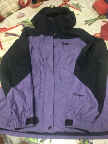 Rain M North Hooded Face Lilla Hyvent Størrelse Kvinder Jacket qcAtYHtS