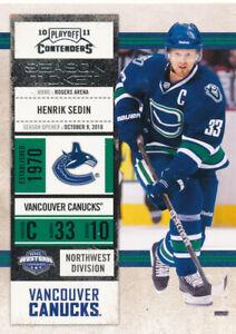 Henrik-Sedin-2010-11-Panini-Playoff-Contenders-20-Vancouver-Canucks-Card