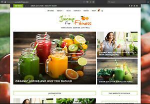 Juicing-Fitness-Website-for-sale-JuicingForFitness-com
