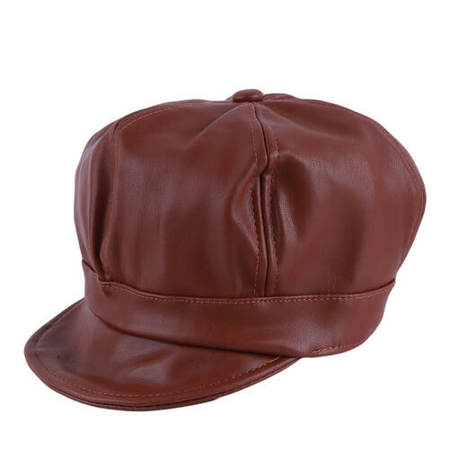 Cortex Ladies Newsboy Gatsby Cap Octagonal Baker Peaked Beret Driving Hat one