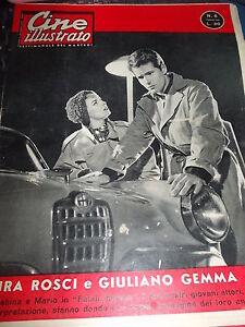 CINE ILLUSTRATO N. 6 DEL 7/2/1960 GIULIANO GEMMA LAURA ROSCI IN FATALI INGANNI - Italia - CINE ILLUSTRATO N. 6 DEL 7/2/1960 GIULIANO GEMMA LAURA ROSCI IN FATALI INGANNI - Italia