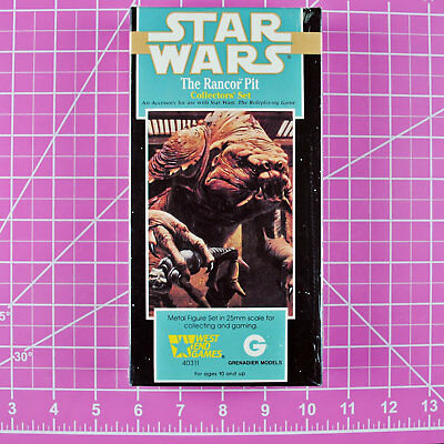 - 25mm Jabba/'s Palace complete set Star Wars West End Game