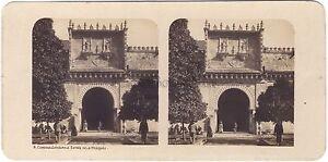 Spagna Cordova Cordoba Moschea Foto Stereoview Vintage Analogica