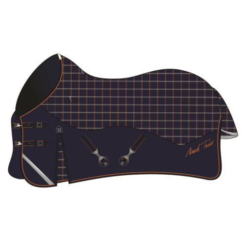 * Nouveau Style Mark Todd cou Standard manutentionner participation 250 G 600d navy//orange