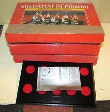 Lotto di tre espositori per soldatini di piombo Deagostini