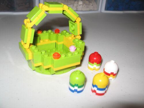LEGO    EASTER BASKET RARE / HARD TO FIND    BUILT FOR DISPLAY