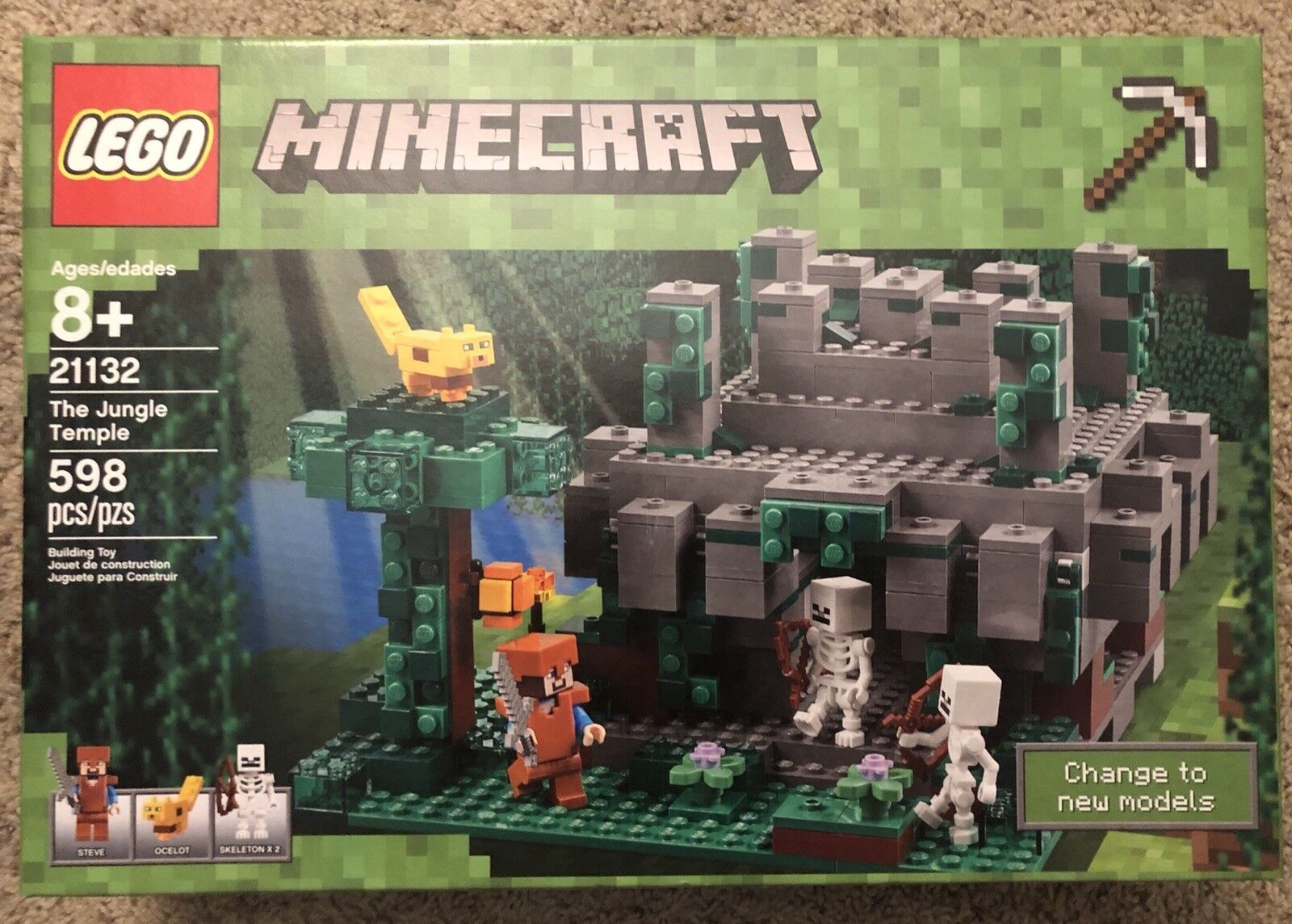 LEGO Minecraft The Jungle Temple (21132)  NEW  SEALED