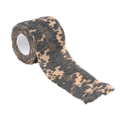 Nastro Mimetico Militare Telato Tessuto Caccia Campeggio Camouflage
